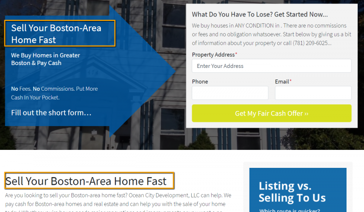 include your keyword in the heading fo your real estate content