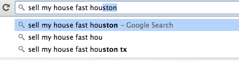 localized search for houston