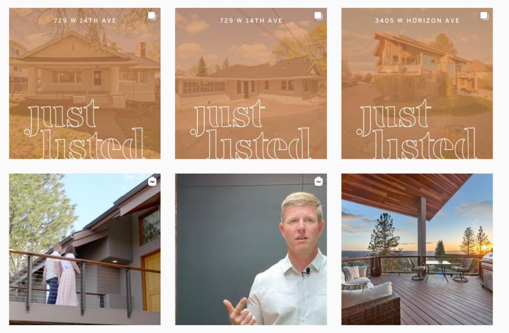 real estate agent marketing ideas - instagram