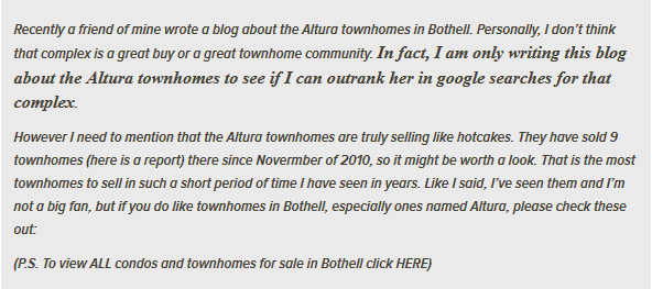 Altura townhomes quote