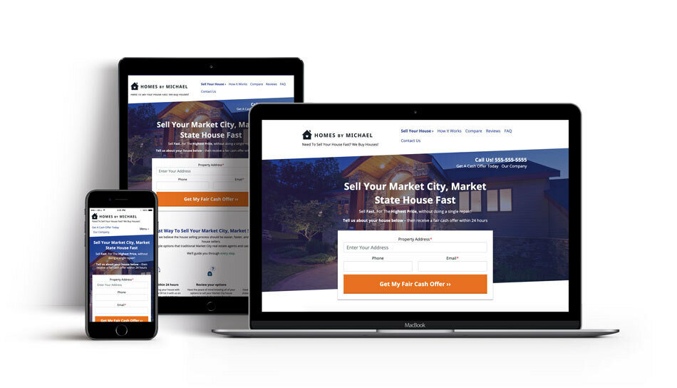 Carrot real estate websites for high lead generation