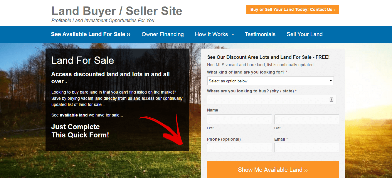 new features for real estate investors - land investor
