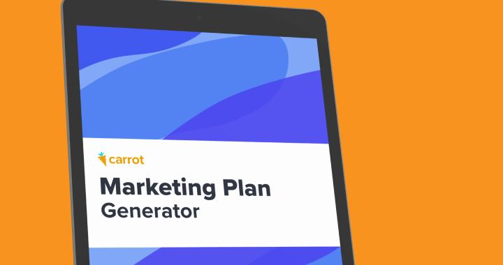Carrot's Marketing Plan Generator