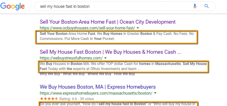 Real Estate SEO Tips what is a meta description