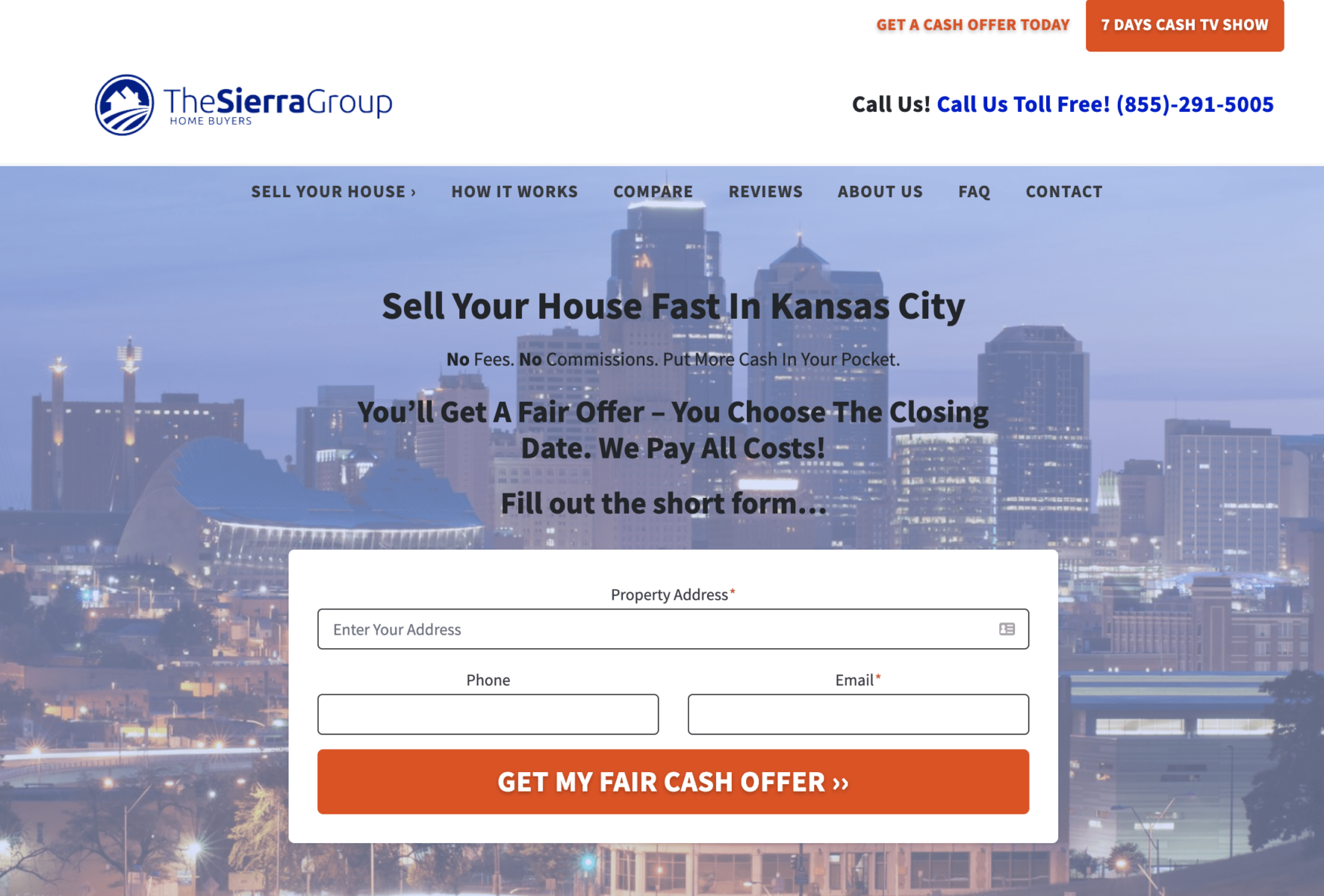 The Sierra Group Carrot Website