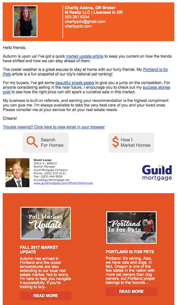 Real Estate Lead Generation Ideas - Email