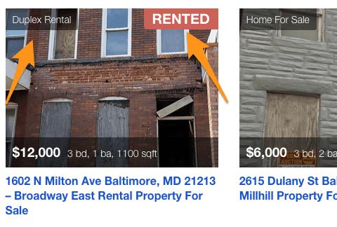 property listing website for wordpress sold sign