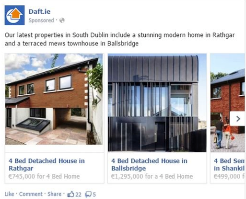 real estate listings on facebook