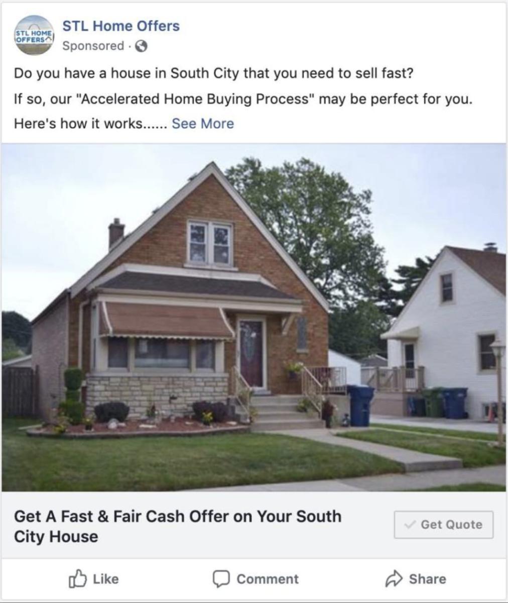 real estate lead generation ideas - Facebook Ads