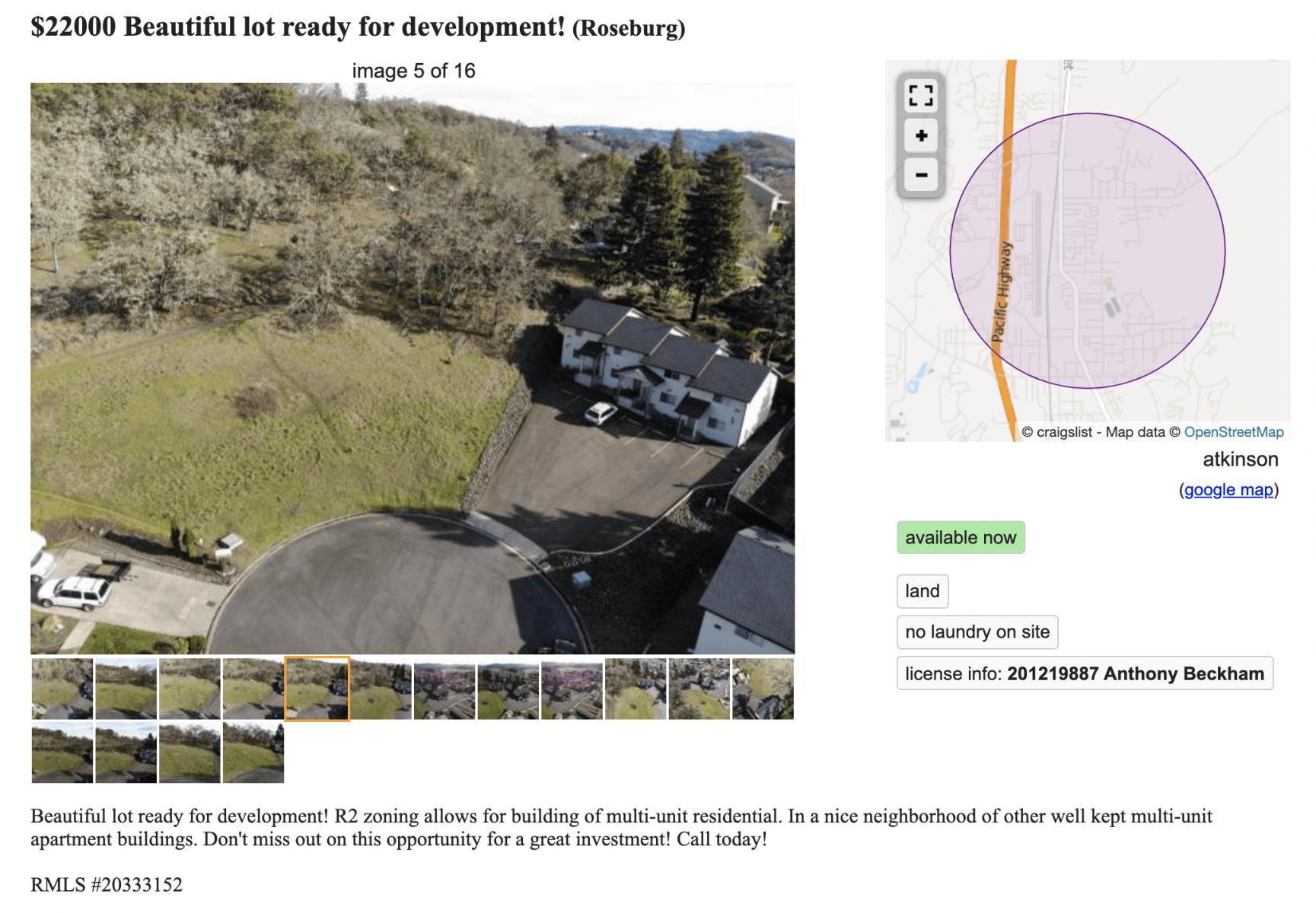 real estate listings on craigslist