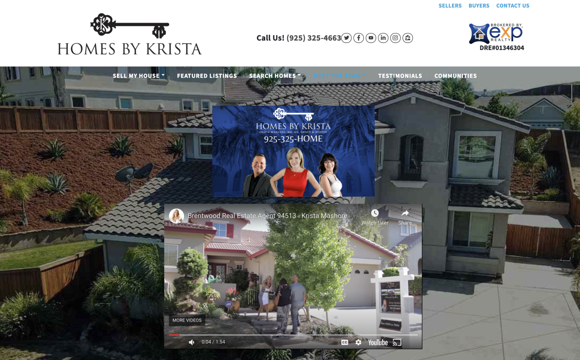 real estate agent website about us videos