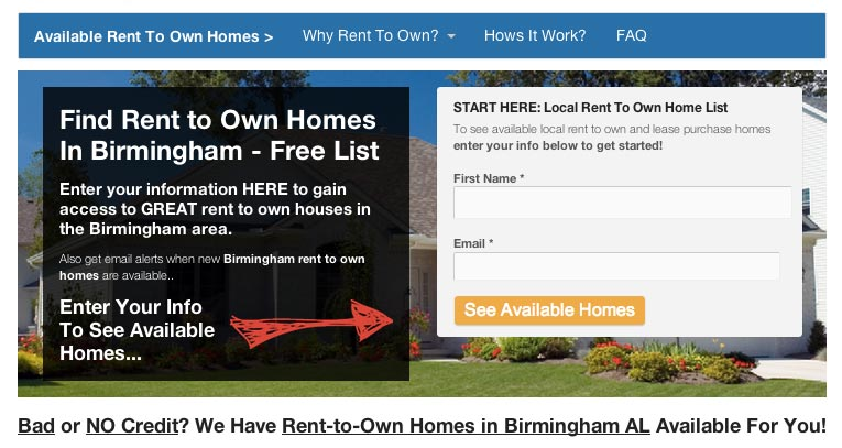 Are you a rent to own investor and need to get more tenant buyer leads? Check out our new Rent to Own Carrot Site!