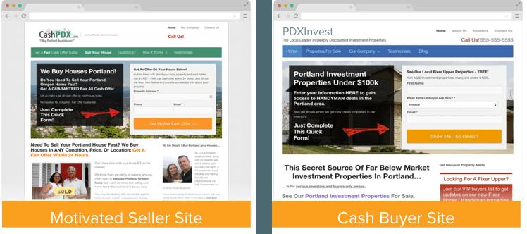 How many real estate wholesaler websites do I need
