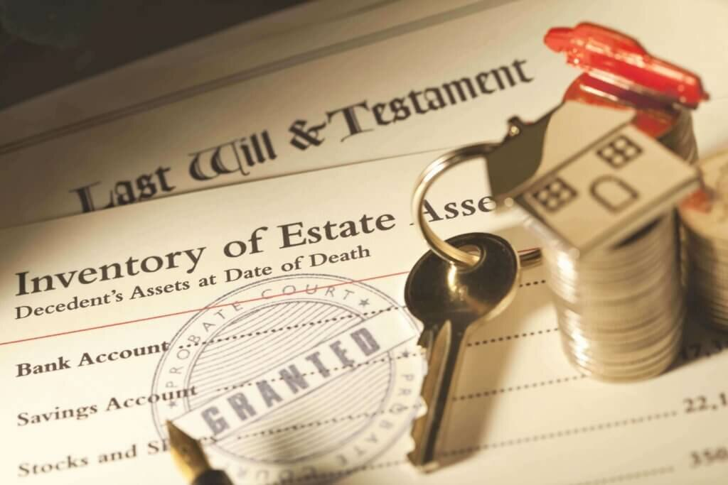 Sell an inherited house.
