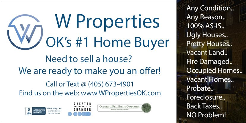 Best we buy houses company in Oklahoma City