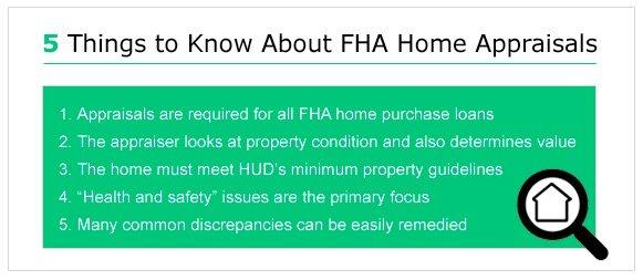 5 things to know about FHA home appraisals