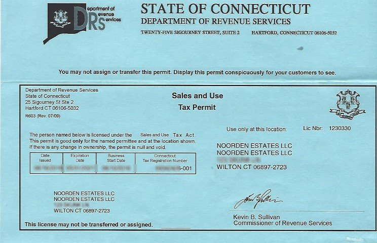 state of ct tax id number