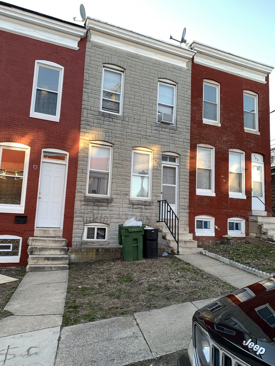 vacant houses in Baltimore