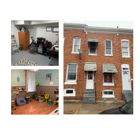 house in south baltimore sold for cash and a fast close