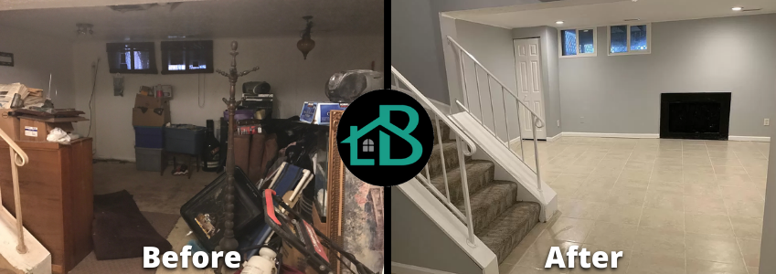 a Maryland property that was sold without a realtor, as is and without cleaning up any clutter