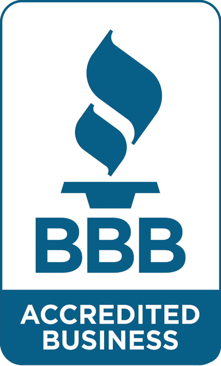 we are accredited by the Better Business Bureau of Maryland