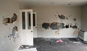 tenant trashed my house