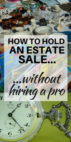 How to hold an estate sale on Long Island