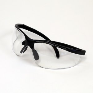 supplies for cleaning out your parent's house - safety glasses