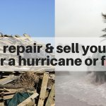 How to sell your house after a hurricane or flood