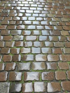 pavement and pavers to prevent flooding
