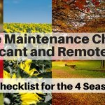Home Maintenance Checklist for vacant or remote homes