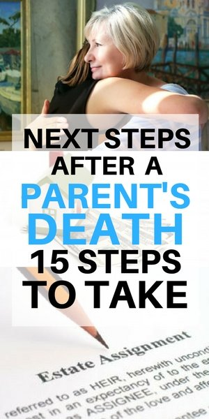 Next steps after a parent's death - Long Island