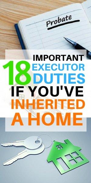 18 Executor tasks for inherited estates on Long Island