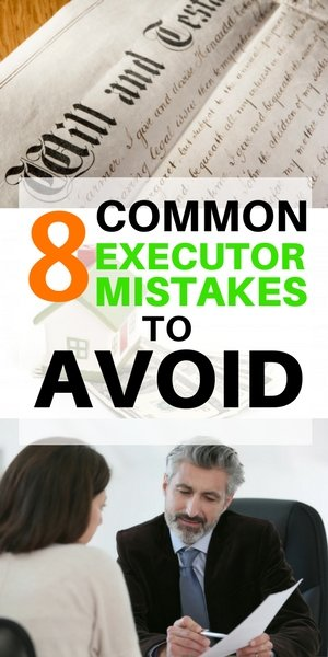 8 Common Executor Mistakes - Nassau and Suffolk Long Island