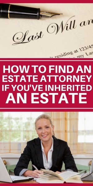 how to find an estate attorney if you inherited a house on Long Island
