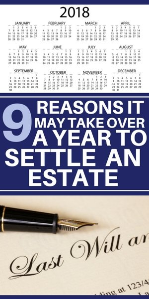 9 reasons it may take over a year to settle an estate on Long Island