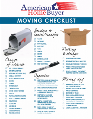 American Home Buyer Moving Checklist