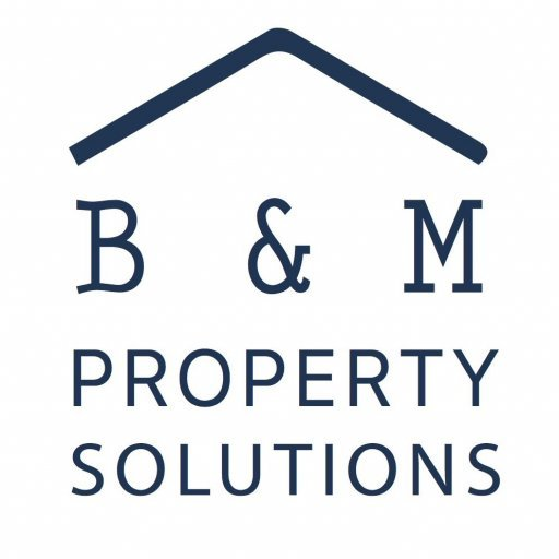B&M Property Solutions logo