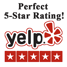 5 start yelp review