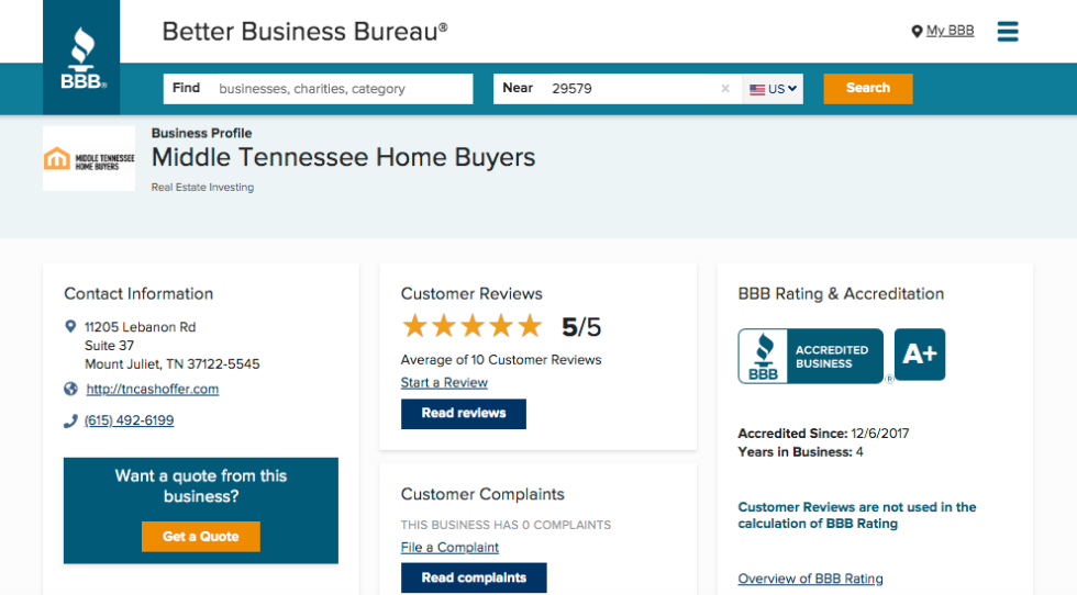 Legitimate House Buyers In Tennessee