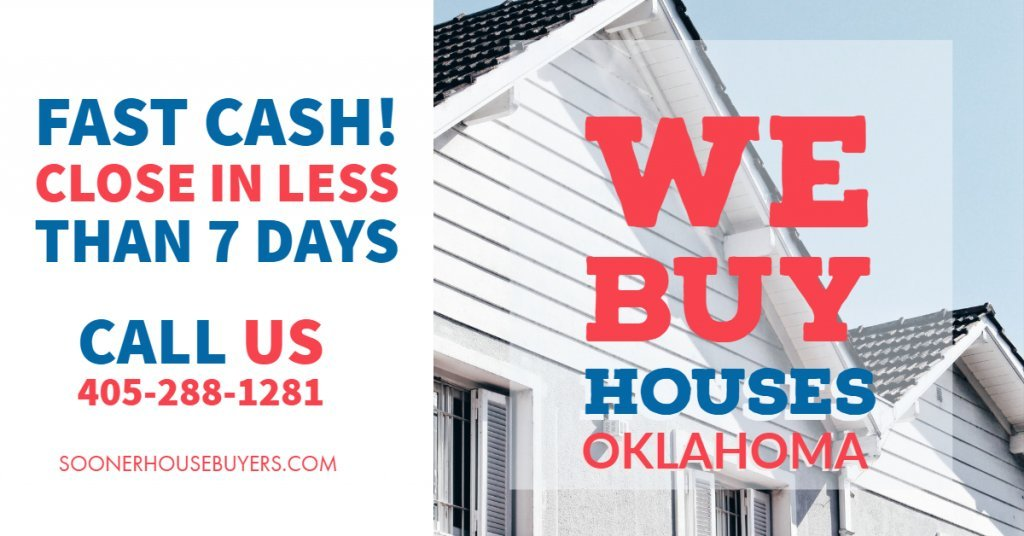Cash House Buyers in Yukon - Sooner House Buyers