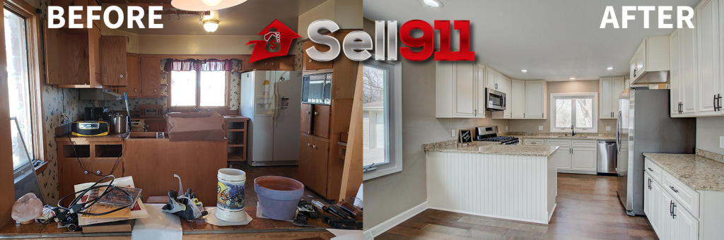 how we buy houses in wisconsin flip before and after