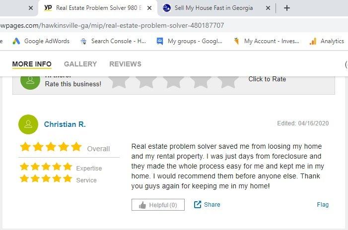 Real Estate Problem Solver Warner Robins Georgia