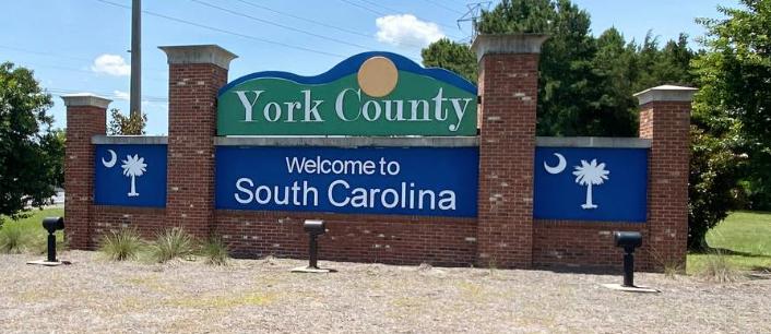 York County South Carolina