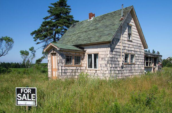 a house in foreclosure for sale as-is