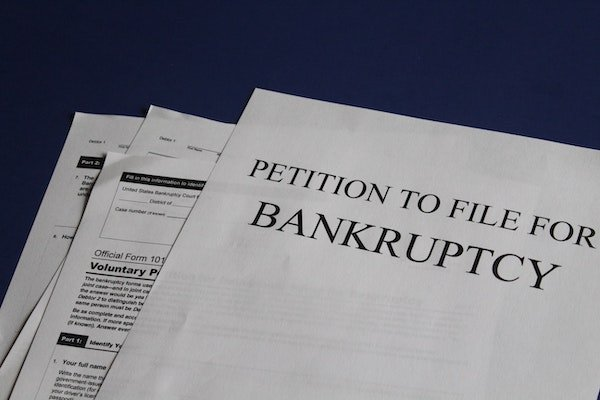 a petition to file for bankruptcy to prevent foreclosure
