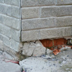 house with foundation problems in Memphis