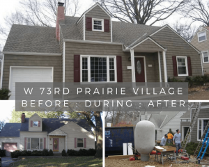 73rd Street House Prairie Village Kansas