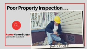 Poor Property Inspection- repair or sell as is?