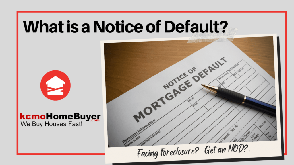 If you've gotten a foreclosure notice of default and want to know what the heck is going on, keep reading.
